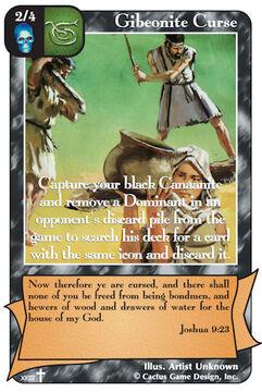 Gibeonite Curse (RA2)
