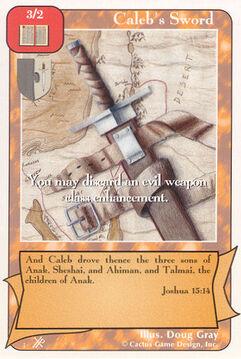 Caleb's Sword (FF) - Faith of Fathers