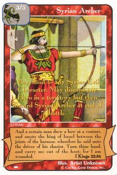 Syrian Archer - Kings