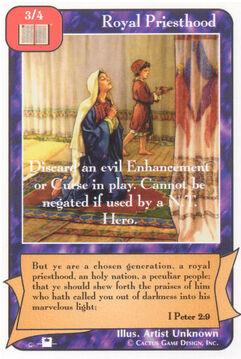 Royal Priesthood (Pi) - Priests
