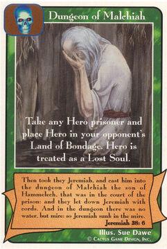 Dungeon of Malchiah - Prophets