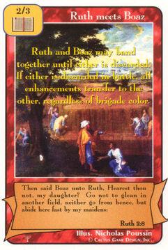 Ruth meets Boaz - Patriarchs