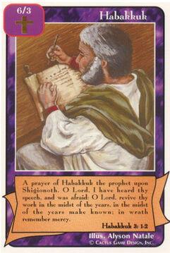 Habakkuk - Prophets