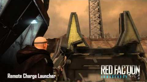 Red Faction Armory - Remote Charge Launcher