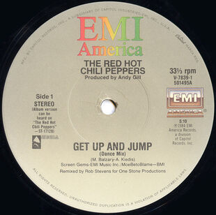"Dance Mix on the a-side to the ""Get Up and Jump"" single"