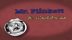Mr. Plinkett The Animated Series Title Card