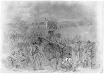 Confederate cavalry 1st virginia bw