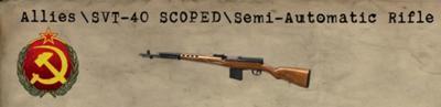SVT-40 Scoped
