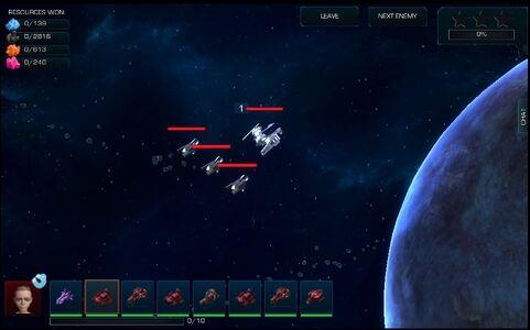 Planet battle