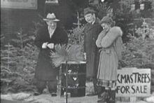 1951-12-15 Selling x-mass trees