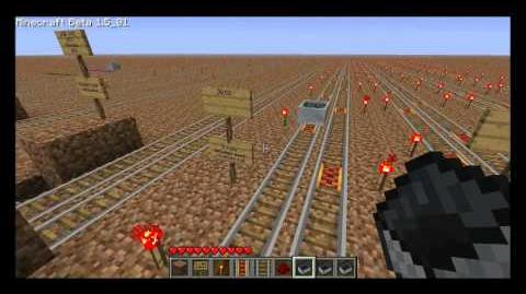 Even more minecart science with powered rail