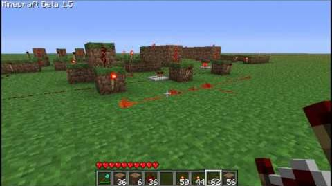 Minecraft Redstone - from Basics to Computers 4 - AND gate , XOR gate