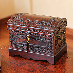 Mohena-Wood-and-Leather-Colonial-Treasure-Jewelry-Box-Peru-P15374632.jpg & Image - Mohena-Wood-and-Leather-Colonial-Treasure-Jewelry-Box-Peru ... Aboutintivar.Com