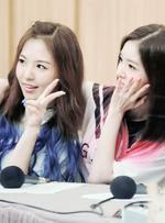 Wendy and Irene Happiness Era Fan meeting