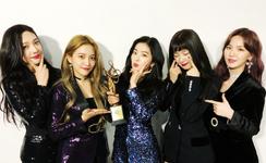 Red Velvet Seoul Music Awards 2018 Twitter Update 250118