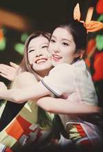 Irene and Joy performing Happiness