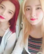 Yeri and Joy SM Tokyo IG Update
