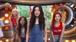 Red Velvet SBS Inkigayo Interview 170709 (2)