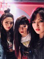 Seulgi, Wendy & Joy IG Updates - 020318