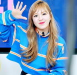 Wendy waving