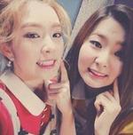 Seulgi and Irene Naver StarCast Update 3
