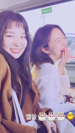 Seulgi and Yeri RV Instagram Story Update 100218 2