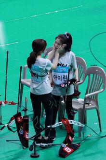 WenRene kiss