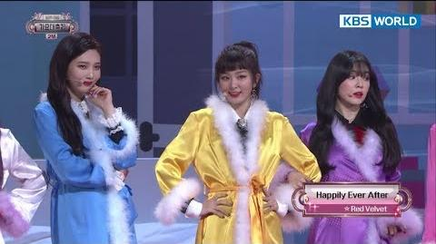 Red Velvet - Happily Ever After 레드벨벳 2017 KBS Song Festival 2017 KBS 가요대축제 2017.12.29