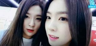 Seulgi and Irene VLive
