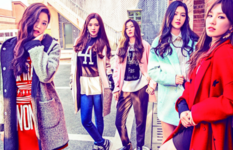 Red Velvet Kpop Fashion for Metersbonwe 2015 2