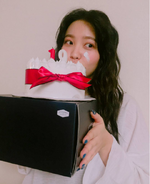 Yeri on her birthday 8