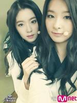 Irene and Seulgi Mnet Kpop