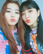 Seulgi and Yeri IG Update 3