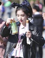 Irene filming for KBS Style Flow