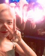 Yeri Instagram Update with fans
