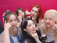 Red Velvet backstage music core Red Flavor 4th win 2