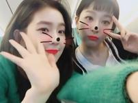 Irene and Seulgi IG Update 231117 3