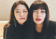 Seulgi and Yeri IG Update 180320 6