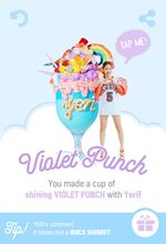 Red Velvet Summer Magic Violet Punch