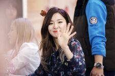 Seulgi waving
