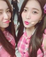 Seulgi and Yeri IG Update 090917 2
