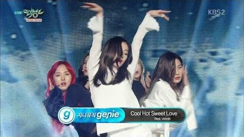 Red Velvet 레드벨벳 Comeback Stage 'Cool Hot Sweet Love' KBS MUSIC BANK 2016.03