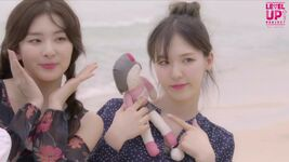 Seulgi and Wendy Level Up Project Red Velvet
