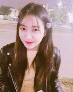 Yeri with flowers in her hair IG Update