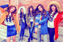 Red Velvet Kpop Fashion for Metersbonwe 2015