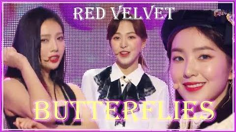 Comeback Stage Red Velvet - Butterflies, 레드벨벳 - Butterflies show Music core 20181201
