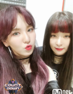Seulgi and Wendy MCountdown 010218