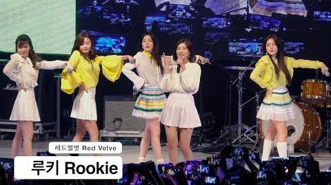 레드벨벳 Red Velvet (5인 완전체) 4K 직캠 루키 Rookie@170519 Rock Music-0