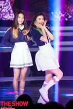 Joy and Seulgi Happiness era The Show