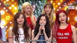 Red Velvet SBS Inkigayo Interview 170709